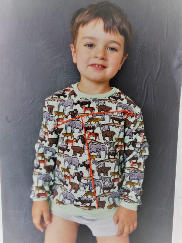 Max&Lou sweater workshop